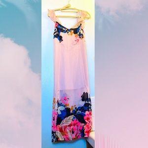 Blush pink Express summer dress